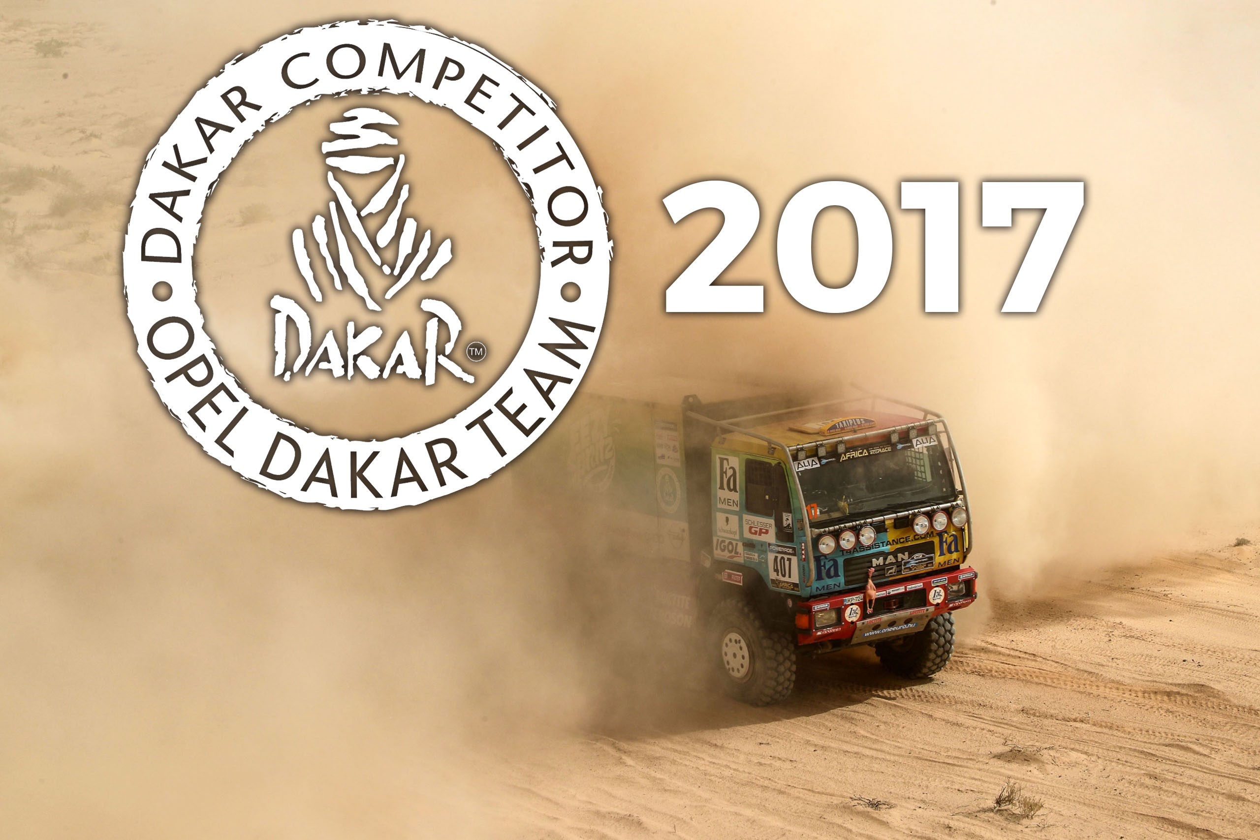 Opel Dakar Team 2017