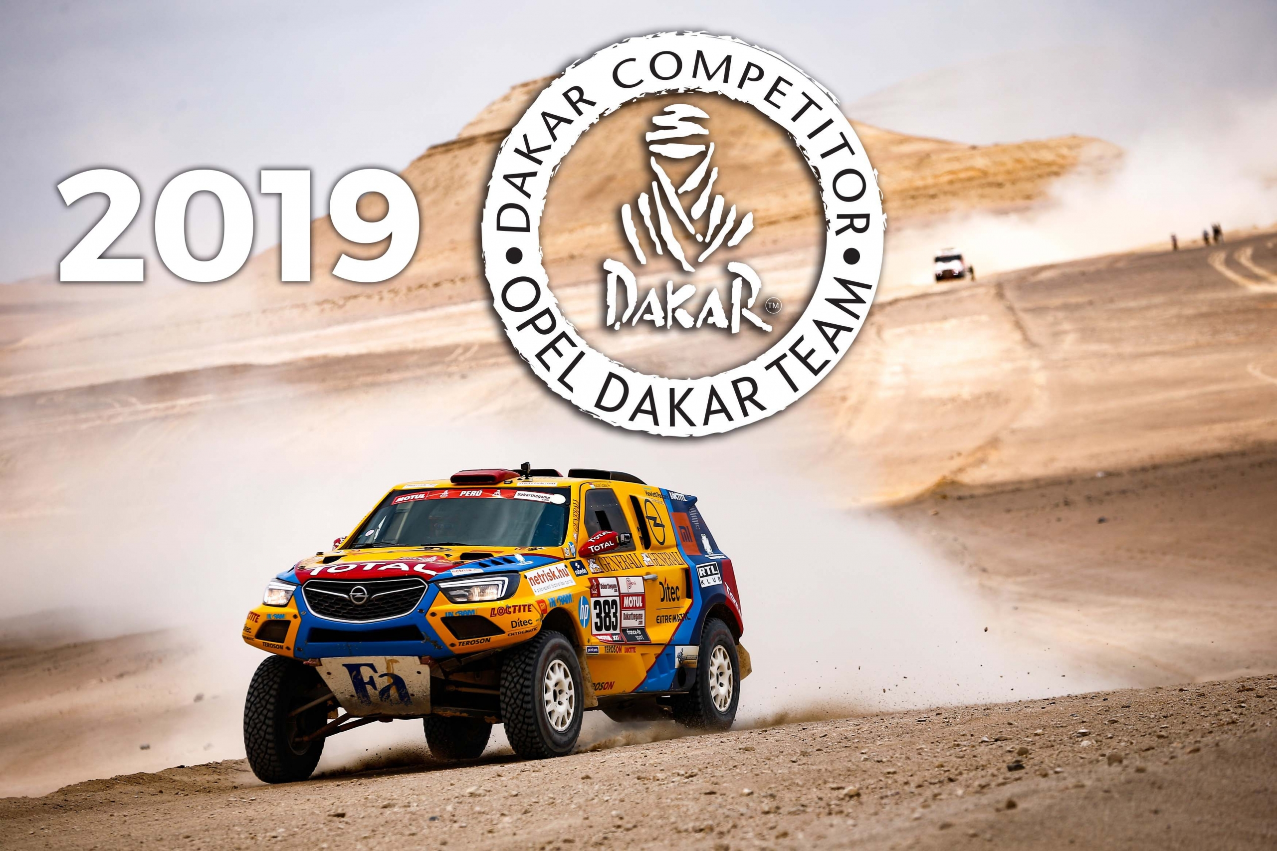 Opel Dakar Team 2019